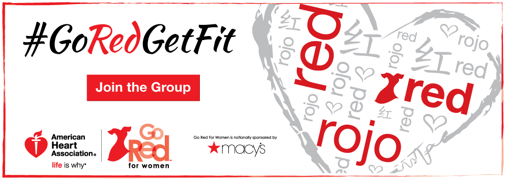 # Go Red Get Fit, join the group